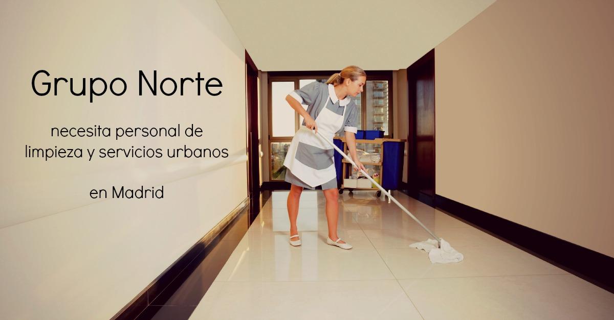 Grupo norte necesita personal de limpieza en madrid blog for Limpieza de jardines madrid
