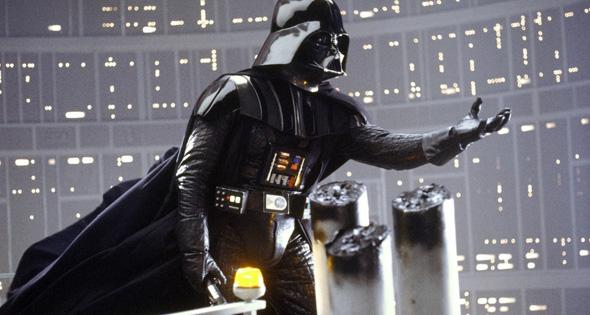 Darth Vader, de la saga 'La guerra de las galaxias'
