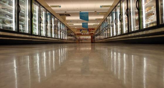 Pasillo de un supermercado. Daniel Lobo, Flickr