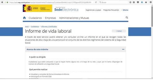 Página web