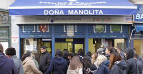 Administración de Lotería La Manolita, Madrid (Gtres)