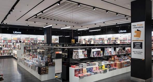 Interior de una de las tiendas Fnac de Barcelona. (https://www.facebook.com/Fnac.es/)