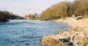 Río Isar, en Munich. Nico Kaiser (iStock)