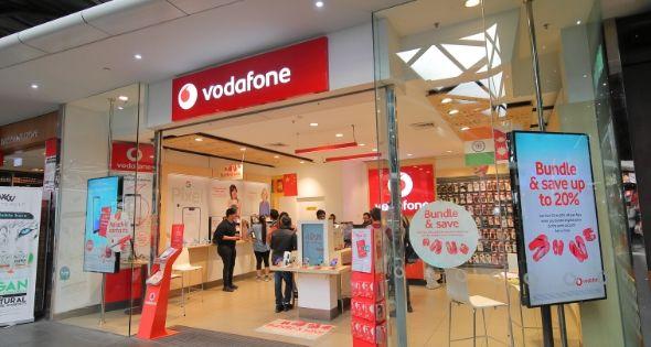 Una de las tiendas de Vodafone (iStock)