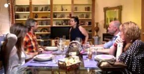 Fotograma de uno de los programas de 'Ven a cenar conmigo' (Web de Cuatro).