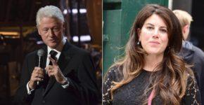 Imagen de Bill Clinton y Monica Lewinsky.