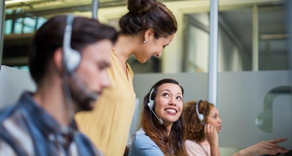 Imagen de un call center. Wavebreakmedia (iStock)