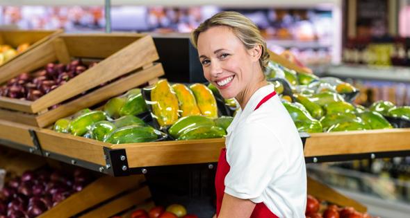 trabajo supermercado