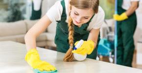 trabajo limpieza