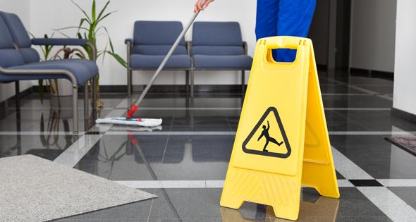 riesgos del sector limpieza