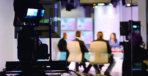 Plató de televisión (istock)