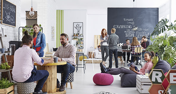 Una buena zona de trabajo incentiva a un mejor rendimiento laboral (iStock)